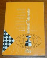 FIDE CHESS INFORMANT Vol.34 Of 1982 YUGOSLAVIA ŠAHOVSKI INFORMATOR SCHACH ECHECS AJEDREZ XADREZ SCACCHI SJAKK ШАХМАТЫ - 1950-Oggi