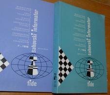 FIDE CHESS INFORMANT Vol.37 Of 1984 YUGOSLAVIA ŠAHOVSKI INFORMATOR SCHACH ECHECS AJEDREZ XADREZ SCACCHI SJAKK ШАХМАТЫ - 1950-Oggi