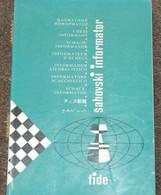 FIDE CHESS INFORMANT Vol.47 Of 1989 YUGOSLAVIA ŠAHOVSKI INFORMATOR SCHACH ECHECS AJEDREZ XADREZ SCACCHI SJAKK ШАХМАТЫ - 1950-Oggi