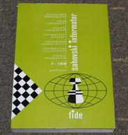 FIDE CHESS INFORMANT Vol.43 Of 1987 YUGOSLAVIA ŠAHOVSKI INFORMATOR SCHACH ECHECS AJEDREZ XADREZ SCACCHI SJAKK ШАХМАТЫ - 1950-Oggi
