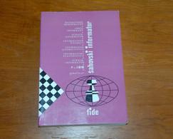 FIDE CHESS INFORMANT Vol.45 Of 1988 YUGOSLAVIA ŠAHOVSKI INFORMATOR SCHACH ECHECS AJEDREZ XADREZ SCACCHI SJAKK ШАХМАТЫ - 1950-Now
