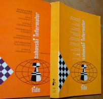 FIDE CHESS INFORMANT Vol.44 Of 1987 YUGOSLAVIA ŠAHOVSKI INFORMATOR SCHACH ECHECS AJEDREZ XADREZ SCACCHI SJAKK ШАХМАТЫ - 1950-Now