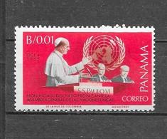 1965 Panama  Pope Paul (**) - Panama