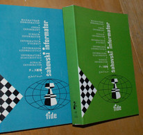 FIDE CHESS INFORMANT Vol.48 Of 1989 YUGOSLAVIA ŠAHOVSKI INFORMATOR SCHACH ECHECS AJEDREZ XADREZ SCACCHI SJAKK ШАХМАТЫ - 1950-Oggi