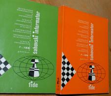 FIDE CHESS INFORMANT Vol.36 Of 1983 YUGOSLAVIA ŠAHOVSKI INFORMATOR SCHACH ECHECS AJEDREZ XADREZ SCACCHI SJAKK ШАХМАТЫ - 1950-Oggi