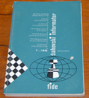 FIDE CHESS INFORMANT Vol.24 Of 1978 YUGOSLAVIA ŠAHOVSKI INFORMATOR SCHACH ECHECS AJEDREZ XADREZ SCACCHI SJAKK ШАХМАТЫ - 1950-Oggi