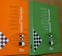 FIDE CHESS INFORMANT Vol.38 Of 1984 YUGOSLAVIA ŠAHOVSKI INFORMATOR SCHACH ECHECS AJEDREZ XADREZ SCACCHI SJAKK ШАХМАТЫ - 1950-Now