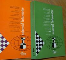 FIDE CHESS INFORMANT Vol.38 Of 1984 YUGOSLAVIA ŠAHOVSKI INFORMATOR SCHACH ECHECS AJEDREZ XADREZ SCACCHI SJAKK ШАХМАТЫ - 1950-Oggi