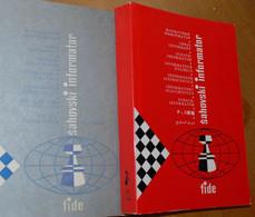 FIDE CHESS INFORMANT Vol.42 Of 1986 YUGOSLAVIA ŠAHOVSKI INFORMATOR SCHACH ECHECS AJEDREZ XADREZ SCACCHI SJAKK ШАХМАТЫ - 1950-Oggi