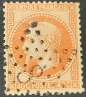 Napoléon III Lauré  N° 31  Avec Oblitération Etoile 8  TB - 1863-1870 Napoleon III With Laurels