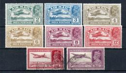 T1-2 Inde Anglaise PA N° 1 à 6 * +  N° 154 Et 154A Oblitéré A Saisir !!! - Corréo Aéreo
