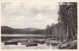 020 - Real B&W Photo RPPS - Tonasket Washington - Bonaparte Lake Resort - 2 Scans - Unclassified