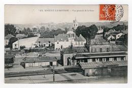 28 EURE ET LOIR - NOGENT LE ROTROU Vue Générale De La Gare - Nogent Le Rotrou