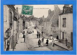 28 EURE ET LOIR - NOGENT LE ROTROU Rue Saint-Laurent - Nogent Le Rotrou