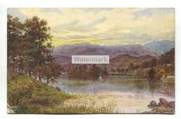 A R Quinton Postcard No. 1489 - Rydal Water, Cumbria - Used In 1919 - Quinton, AR