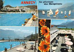 74 - Annecy - Les Piscines Des Marquisats - Multivues - Annecy