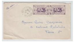 REUNION -1946- Lettre De SAINT-DENIS Pour PARIS -- - Covers & Documents