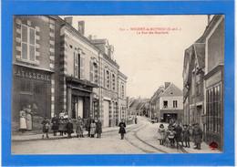 28 EURE ET LOIR - NOGENT LE ROTROU La Rue Des Bouchers - Nogent Le Rotrou