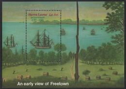 Sierra Leone 1987 - Mi-Nr. Block 57 ** - MNH - Schiffe / Ships - Sierra Leone (1961-...)