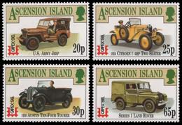 Ascension 1996 - Mi-Nr. 687-690 ** - MNH - Auto / Cars - Ascension (Ile De L')
