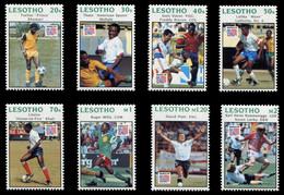 Lesotho 1994 - Mi-Nr. 1081-1088 ** - MNH - Fussball / Soccer - Lesotho (1966-...)
