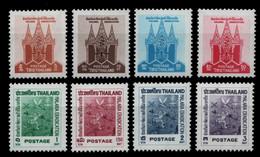 Thailand 1962 - Mi-Nr. 385-392 ** - MNH - Malaria - Thailand