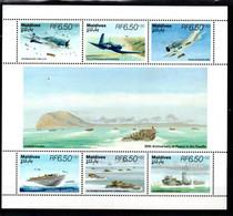 T1-3 Maldives PA BF N° 2044 à 2049 ** A Saisir !!! - Maldives (1965-...)