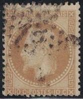 EMPIRE - N°28B - ETOILE 13 DE PARIS - COTE TIMBRE 8€. - 1849-1876: Periodo Classico