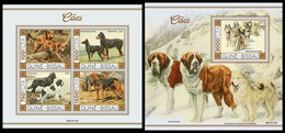 GUINEA BISSAU 2021 - Dogs I, M/S + S/S. Official Issue [GB210113] - Guinea-Bissau
