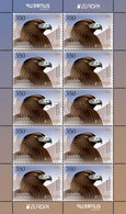 Armenia Arménie Armenien 2021 Mi 1200 Europa Golden Eagle Bird Endangered National Wildlife Red Book PostEurop MNH** - Armenien