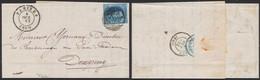 N°11A Margé Sur LAC Obl P162 çàd Tamines (1860, Manusc. Ste-Marie-D'oignies) > Dampremy / Manufacture De Glaces - 1858-1862 Médaillons (9/12)