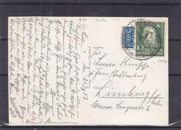 Allemagne - République Fédérale - Carte Postale De 1952 - Peintre - Vue Du Jnntal - Valeur 15 Euros - Lettres & Documents
