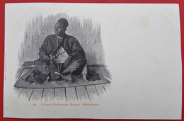 Cpa GUINEE PORTUGAISE Mandingue - Guinea-Bissau