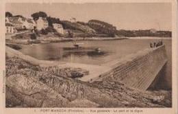 29 NEVEZ PORT-MANECH Vue Générale, Le Port Et La Digue - Animée - Névez