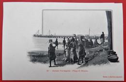 Cpa GUINEE PORTUGAISE  Plage De Bissau Port - Guinea-Bissau
