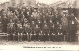 TOULOUSE TRAMWAYS ET OMNIBUS F PONS DE TOULOUSE   Tombeliers Equipe Et Palefreniers - Toulouse