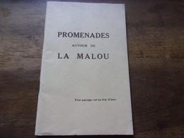 ANONYME  PROMENADES AUTOUR DE LA MALOU // VILLECELLE / LAMALOU LES BAINS  TAUSSAC CAPIMONT... - Languedoc-Roussillon