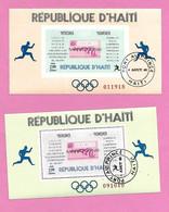 5414  --  HAITI - 1968 BF N° 26/27 - Haití