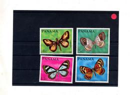 Lot Timbre Neuf Papillon - Panama