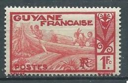 Guyane YT N°124A Pirogue Sur Le Maroni Neuf/charnière * - Ongebruikt