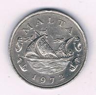 10 CENTS 1972  MALTA  /3853/ - Malta