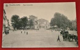 Bruxelles - Ixelles - Place Communale    -  1918 - Places, Squares