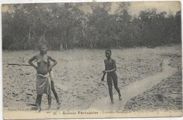 AFRIQUE   GUINEE PORTUGAISE.  FEMMES MANJAQUES AU SEINS NUS - Guinea-Bissau