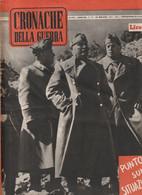 Rivista - Cronache Della Guerra - 10 Maggio 1941 - War 1939-45
