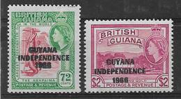 Britisch Guayana 1967 Lot  Mi.-Nr. 291, 293 **/MNH - Guyane Britannique (...-1966)