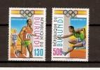 Burundi 1992 OCBn° 1012-13 *** MNH Cote 17,50 Euro Sport - 1990-99: Mint/hinged