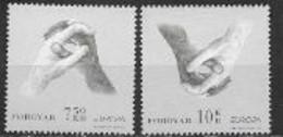 Féroé 2006 N° 568/569 Neufs Europa L'intégration - 2006