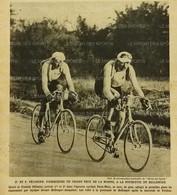 1920 CYCLISME - LE GRAND PRIX DE LA MARNE - HENRI ET FRANCIS PÉLISSIER - FARMOUTIERS - LE FERTÉ GAUCHER - CÉZANNE - 1900 - 1949