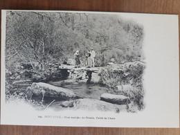 Pont Aven.pont Rustique Du Plessis.variante.édition Villard 229 - Pont Aven