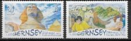 Guernesey 2006 N° 1099/1100 Neufs Europa L'intégration - 2006